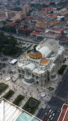 Palacio de Bellas Artes desde la Latino