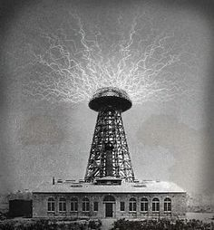 Wardenclyffe Tower (1901–1917) also known as the Tesla Tower, was an early wireless telecommunications tower designed by Nikola Tesla and intended for commercial trans-Atlantic wireless telephony, broadcasting, and to demonstrate the transmission of power without interconnecting wires.