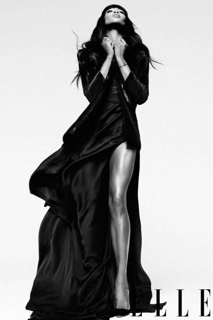 Naomi Campbell Gets Sickeningly Fab For ELLE, Talks Tyra Banks, Reality TV, And Phone-Slingin' Regret