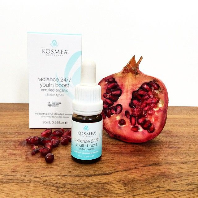 Nourish your skin with nature ~ Kosmea 24/7 Radiance Youth Boost certified organic skin booster.  A must have for winter. http://www.absoluteskin.com.au/Kosmea-Radiance-24-7-Youth-Boost-p/kos712.htm  #kosmeaaustralia #radiance #certifiedorganic #naturalskincare #natural #love #24/7 #youthboost #oil #rosehipoil #pomegranate