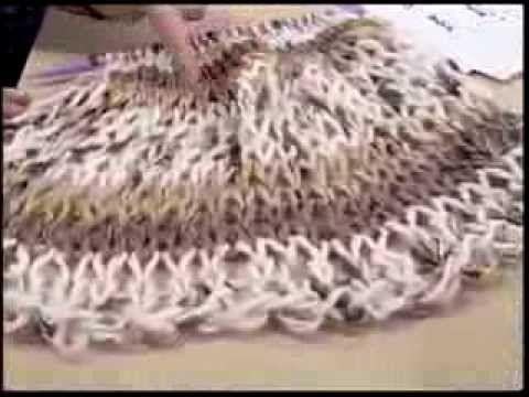 Gola de Tricô passo a passo - YouTube