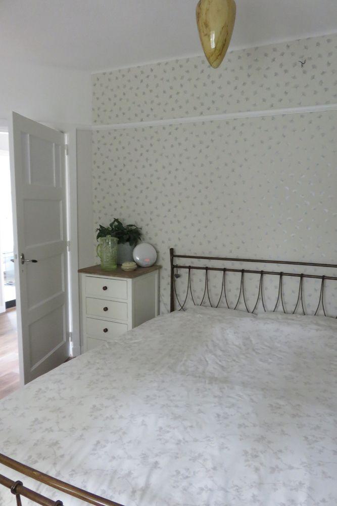 Ontwerp Binnenkijken Interieuradvies. Slaapkamer - bedroom. Behang ...