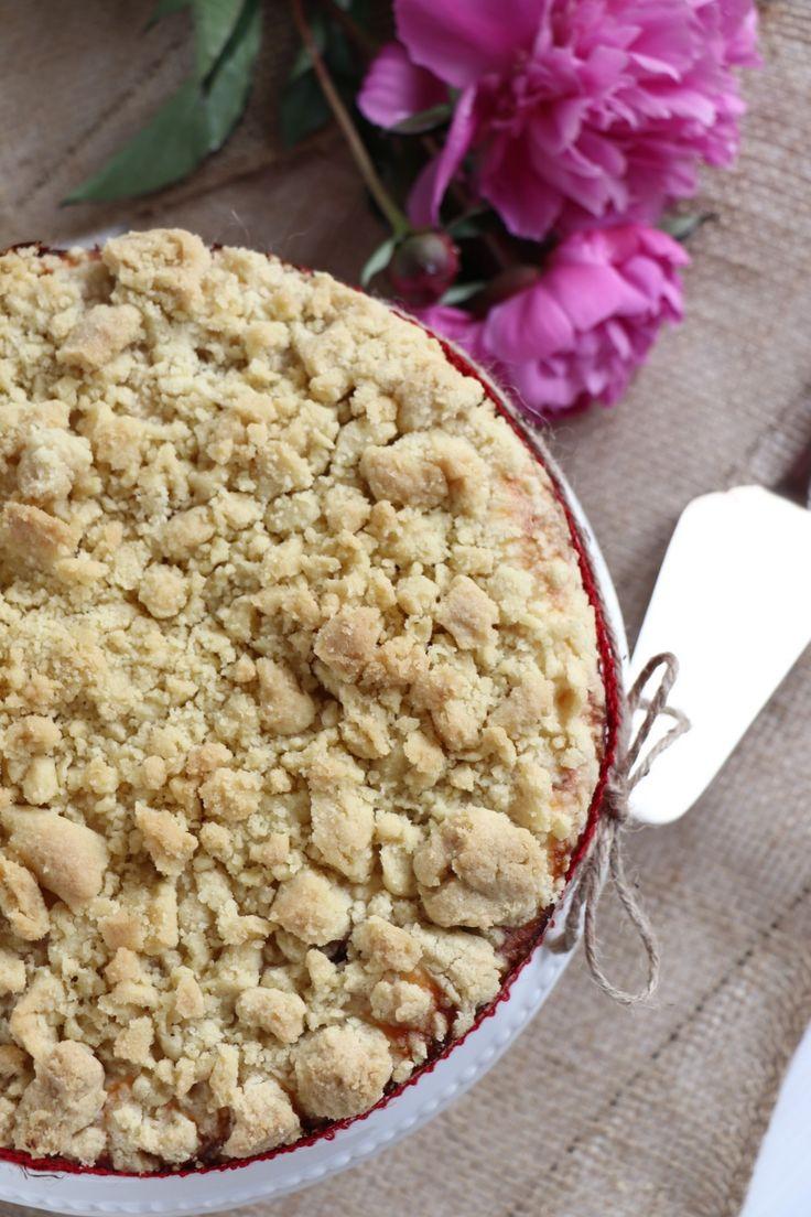 Kirsch-Streuselkuchen: Rezept für einen Käsekuchen – Lavendelblog