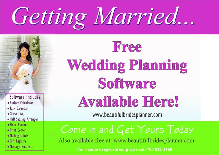 This Is A Free State Of Art Wedding Planning Software That Is