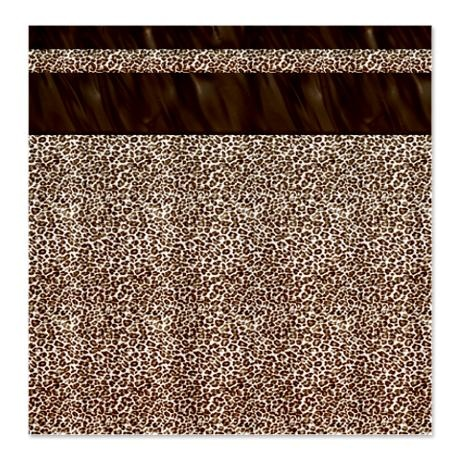 animal print shower curtain my cafepress products