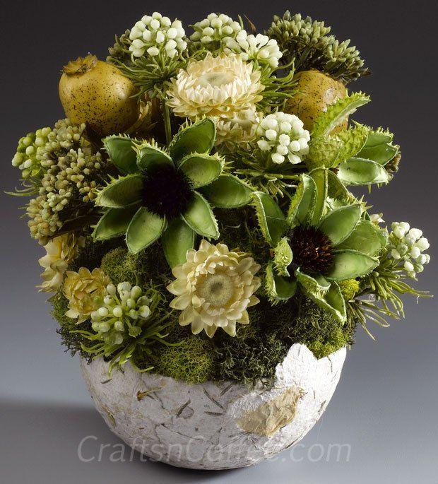 31 best Dried Arrangements images on Pinterest | Flower ...