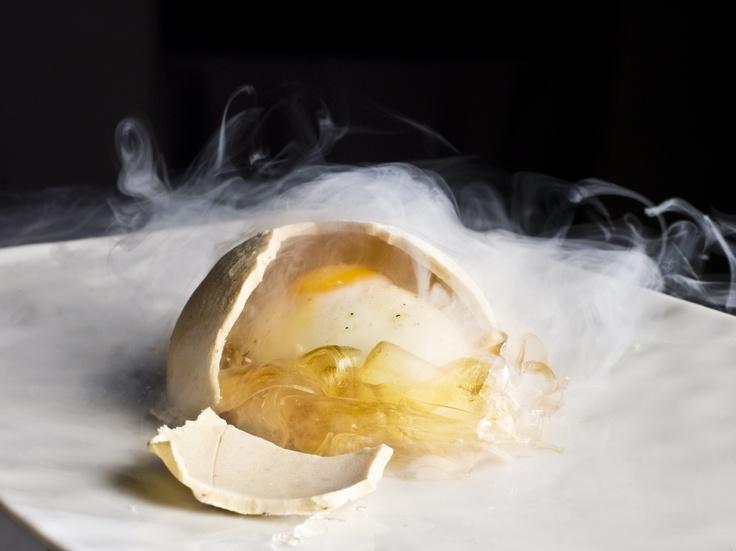 Falso huevo carbonara