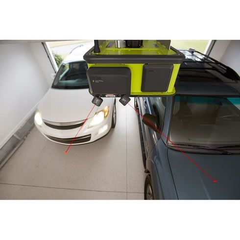 Ryobi Smart Garage Door Opener Has A Fan Laser Beams