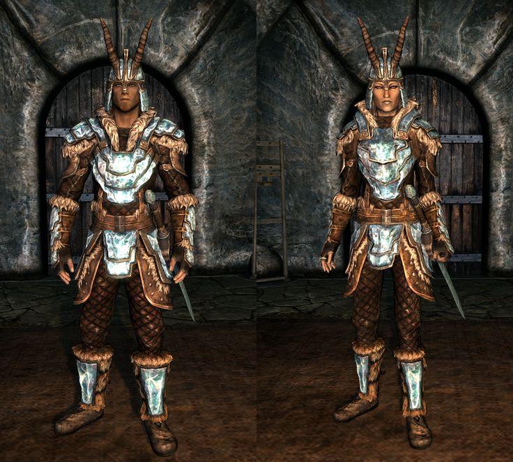 Skyrim · Stalhrim Deathbrand Armor