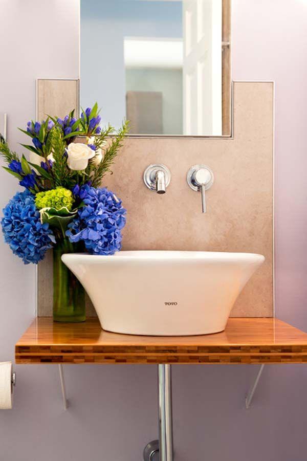 22 skvelých riešení pre malé kúpeľne nájdete na http://www.tojenapad.sk/22-skvelych-rieseni-pre-male-kupelne/ | To je nápad!  #design #dizajn #bathroom #kúpeľňa