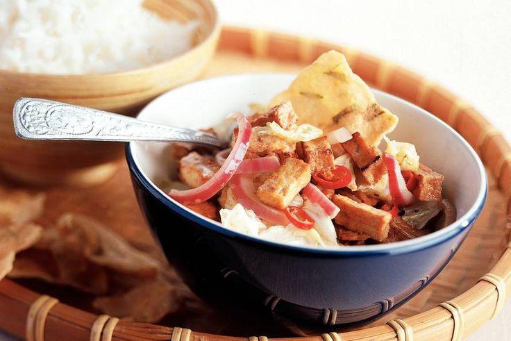 Roergebakken Chinese kool met pittige tofu - Recept - Allerhande