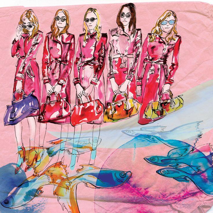Fashionillustration Edina Mihalkovics