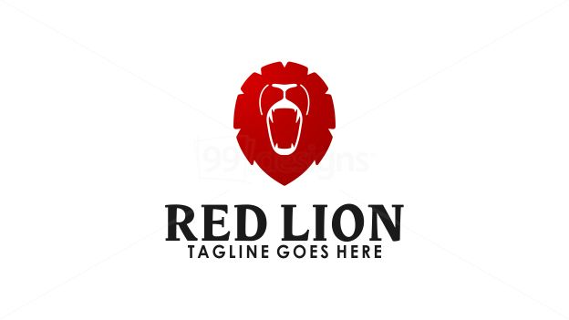 Red Lion on 99designs Logo Store