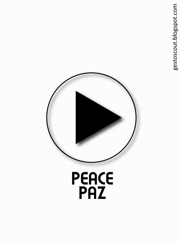 Play Peace, no war. #PlayPeace