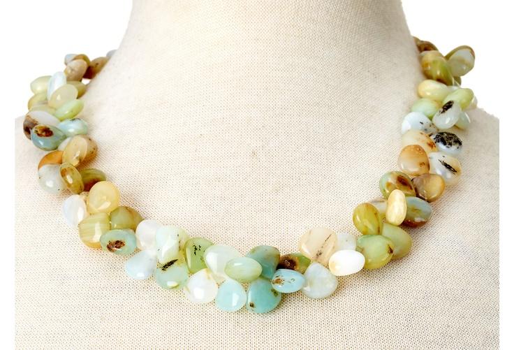 One Kings Lane - Cygnet et Cie - Peruvian Blue Opal Necklace