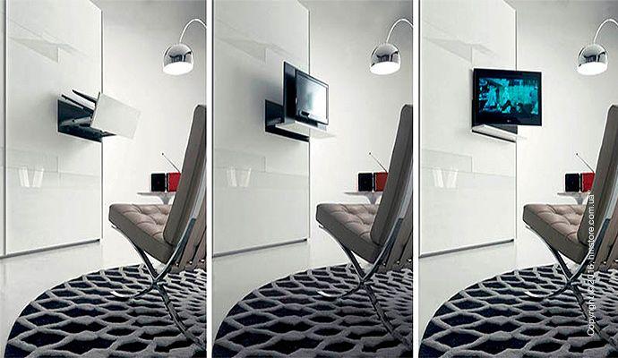 🌄 Телевизор в выдвижной полке   Итальянский производитель мебели «FIMAR» создал шкаф, в выдвижной полке которого может поместиться 32-дюймовый телевизор с плоским экраном. Эта полка под названием «GHOST» может вместить себя любой телевизор с максимальной диагональю в 32 дюйма.   📖 Читать подробнее: http://hmstore.com.ua/blog/idei-dlya-doma/televizor-v-vyidvijnoy-polke  #идеи_для_дома #fimar #телевизор_в_выдвижной_полке #полка_ghost
