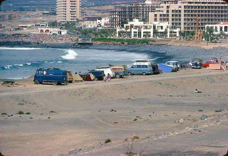 Playa de las Américas, Arona  Años 1972-1975