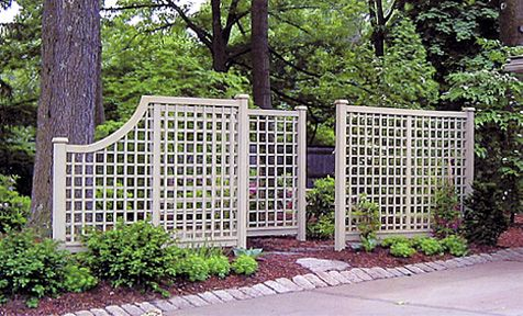 67 best patio ideas images on pinterest for Outdoor lattice privacy screen