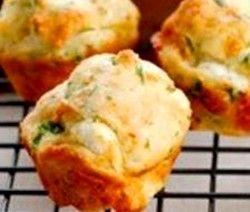 soetrissie en cheddar muffin