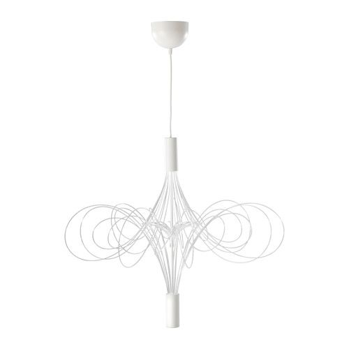 99 best light images on pinterest ceiling lamps flush mount ikea lvsbyn led chandelier white the tubes with leds create exciting lighting effects and look like mozeypictures Gallery