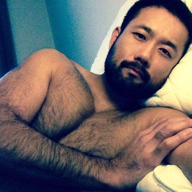 Hairy Asian Man 42