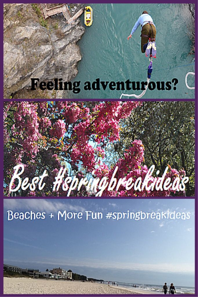 Escape the Weather Extremes with a Spring Break.  My top 5 choices for #springbreakideas for 2015 when you #travelwithkids