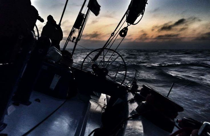 Tokio II Ocean Race Experience VO60 somewhere on the Baltic Sea see more http://oceanrace60.fi #oceanrace #tokioII #purjehdus #sailing