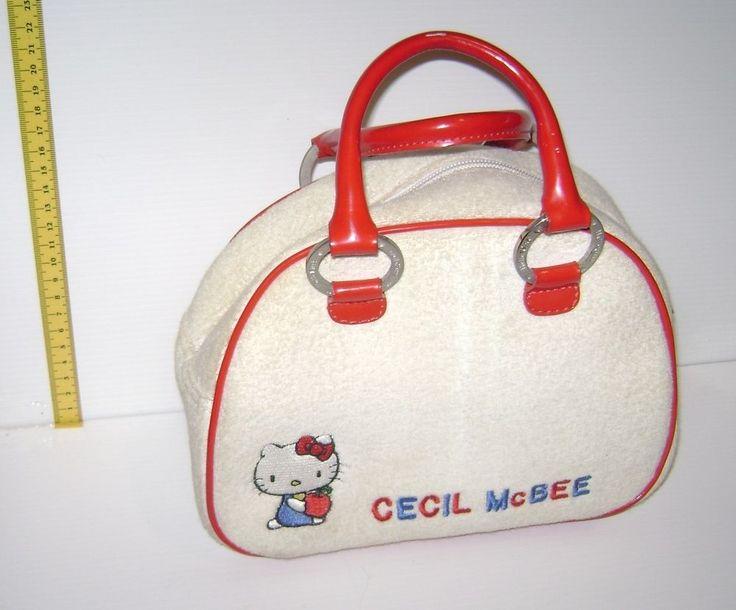 HELLO KITTY - Cecil Mac Bee 2005 Sanrio Japan cute handle bag - borsa borsetta