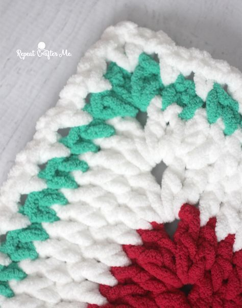 Bright and Bulky Bernat Blanket | Crochet, Knitting, and Sewing ...