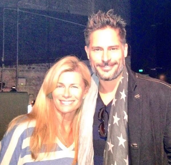 Great sharing the stage and having a chat with the BIG guy himself @joemanganiello   You were such a hit!