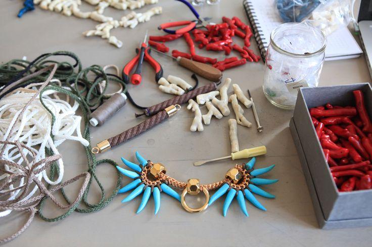 YAYOI studio www.yayoi.eu #yayoistudio #yayoijewelry #jewelry #statementnecklace