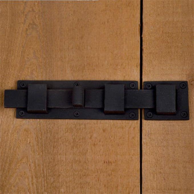 Classic Iron Surface Bolt Gate Hardware Signature Hardware Door Accessories
