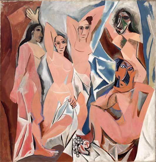 Las señoritas de Avignon, de Picasso