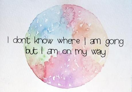 Definitely on my way...not knowing the destination is just fine since I have defined the way I want to travel the journey.