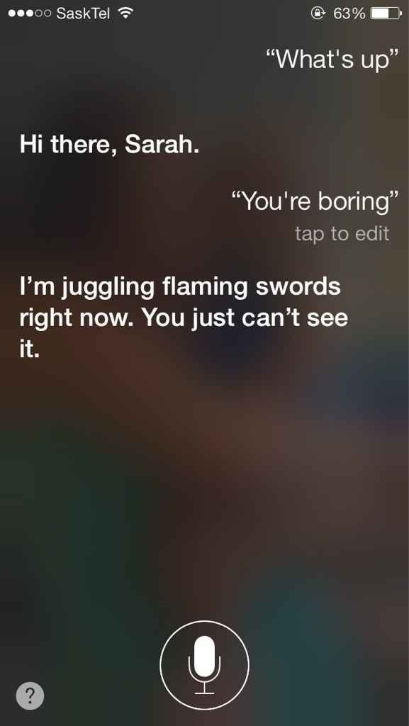 When she tried to show off. | 29 Times Siri Was Actually A Bit Of A Dick