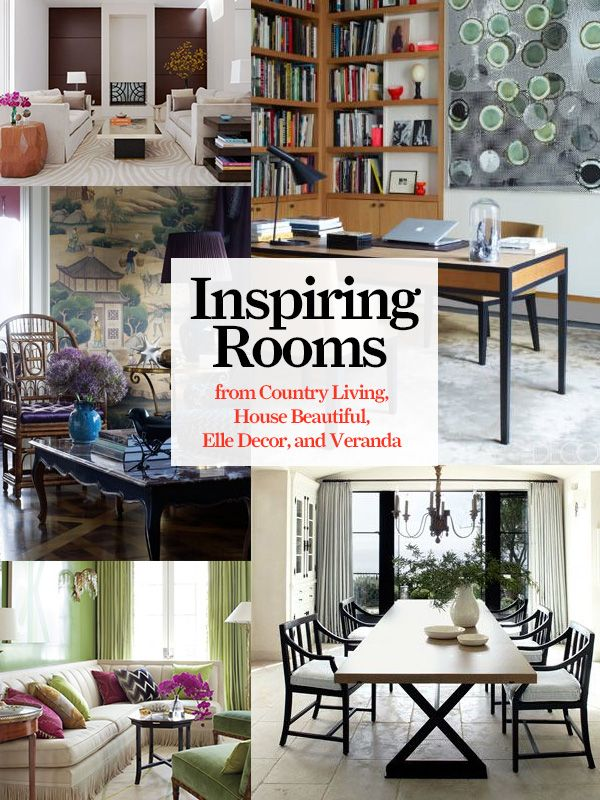 Decorating Ideas And Beautiful Rooms From Country Living Elle Decor House Beautiful And