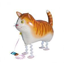 Gående Katt Heliumballong