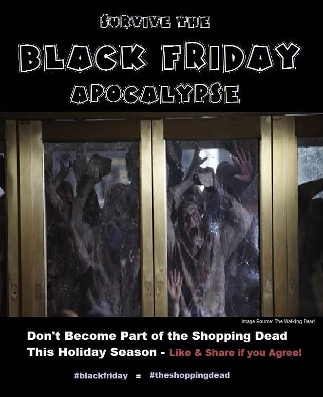 Survive Black Friday in Style - Don't become part of the Shopping Dead this holiday season. #bizwaremagic #blackfriday #cybermonday