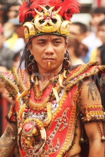 Dayak tribe attends Cap Go Meh new year celebration