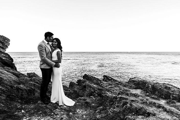 Stunning Rottnest Island wedding. Image by Perth wedding photographer Sara Hannagan Photography