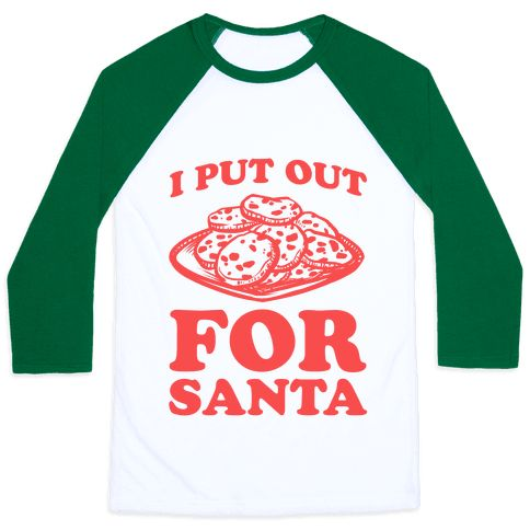 This funny Santa shirt is a great Christmas gag gift to show some holiday slut…
