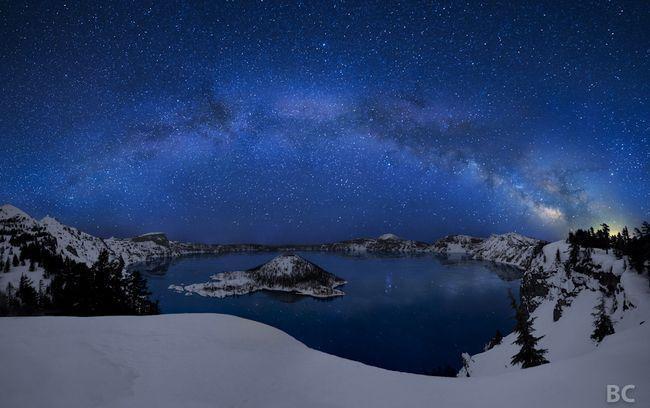 Lago Crater, Mount Mazama – Oregon (EUA)