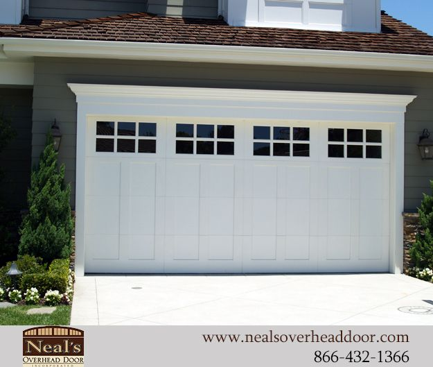 Craftsman Style Custom Garage Door