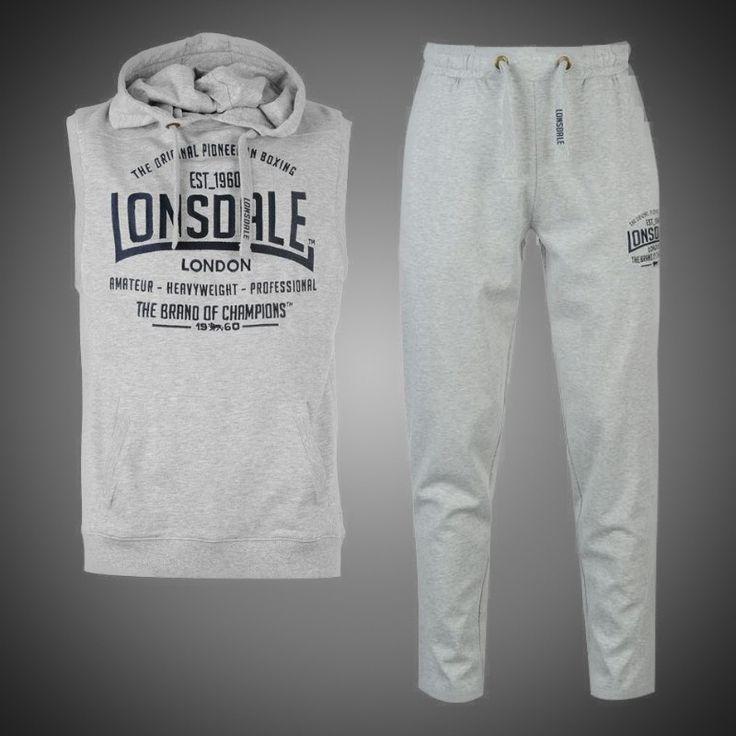 Sportovní souprava Lonsdale Champions grey