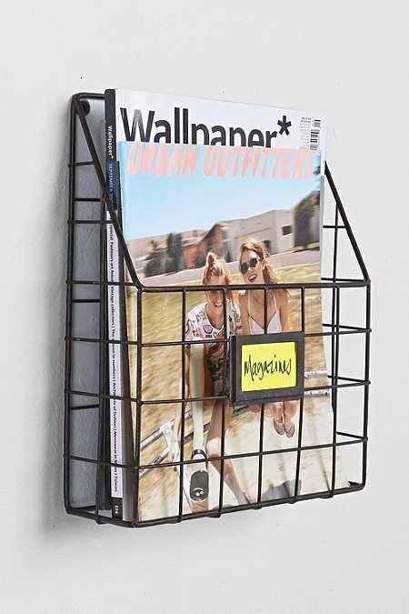 Wandhalterung für Zeitschriften