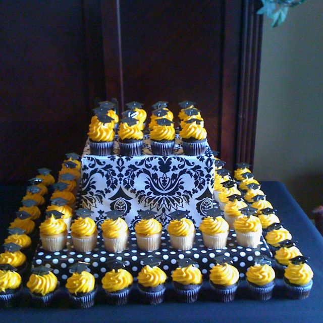 Cupcake Design For Graduation : 17 Best images about Graduation Cupcakes on Pinterest ...