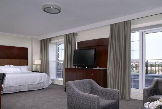 Our premier suite which overlooks Cornwallis Park in downtown Halifax, Nova Scotia.