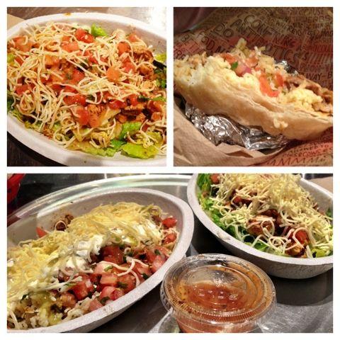 Chipotle Copy Cat Burrito Bowl Recipes  -Chicken Marinade -Pico de Gallo -Corn Salsa -Honey Chipotle Salad Dressing
