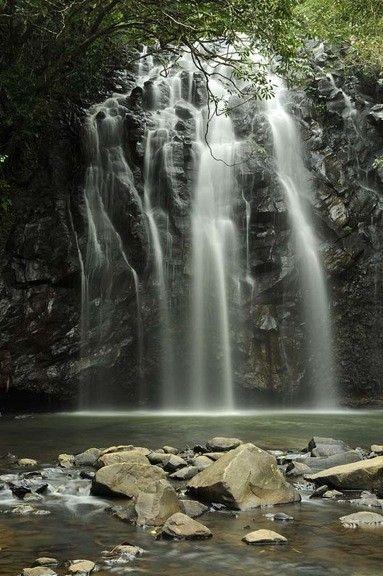 Ellinjaa Falls Near Atherton, Australia