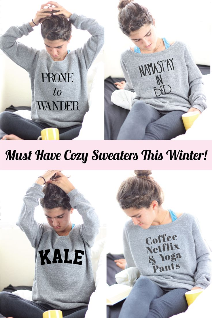Cozy Sweaters For The Winter
